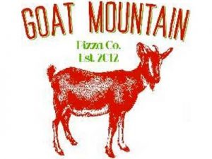 goat mountain pizza logo