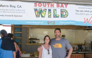 rob and tiffiani in front of south bay wild